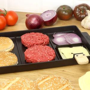 Grill spécial burgers et accessoires - Cookut