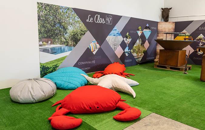 Retrouvez dans notre showroom des marques comme Ofyr, MX Home, etc.