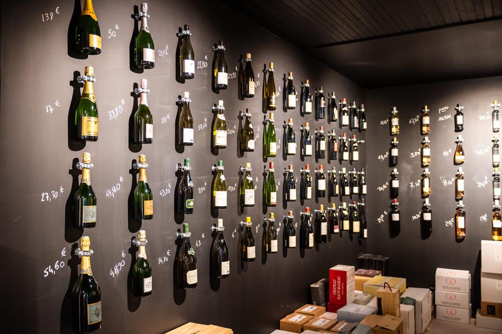 La sélection de vins et spiritueux du Clos 47