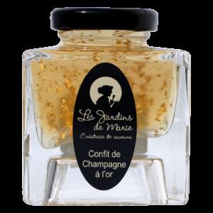 Les Jardins de Marie - Confit de Champagne à l'or
