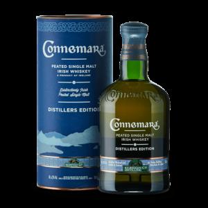 Irish Whisky connemara pour les amateurs de whisky Anglais.