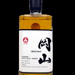 Okayama single malt , whisky japonais en vente au clos 47 dans l'Aisne.