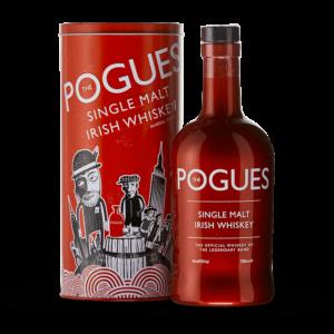 The pogues single malt, whisky Anglais en vente au clos 47 près de Laon.