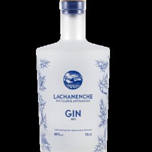 Gin bio lachanenche, spiritueux bio disponible au Clos 47 près de Laon.